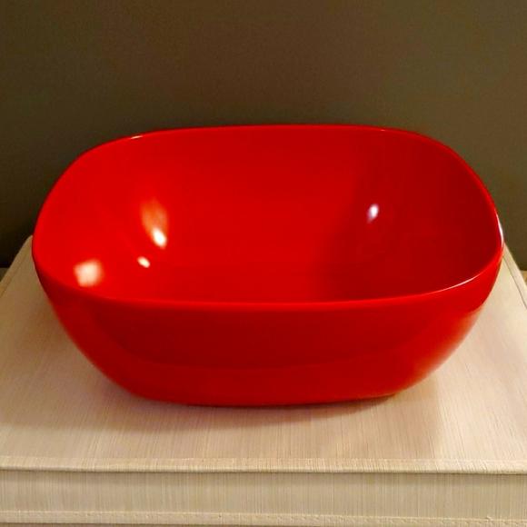 Target Other - Festive Red Serving Bowl